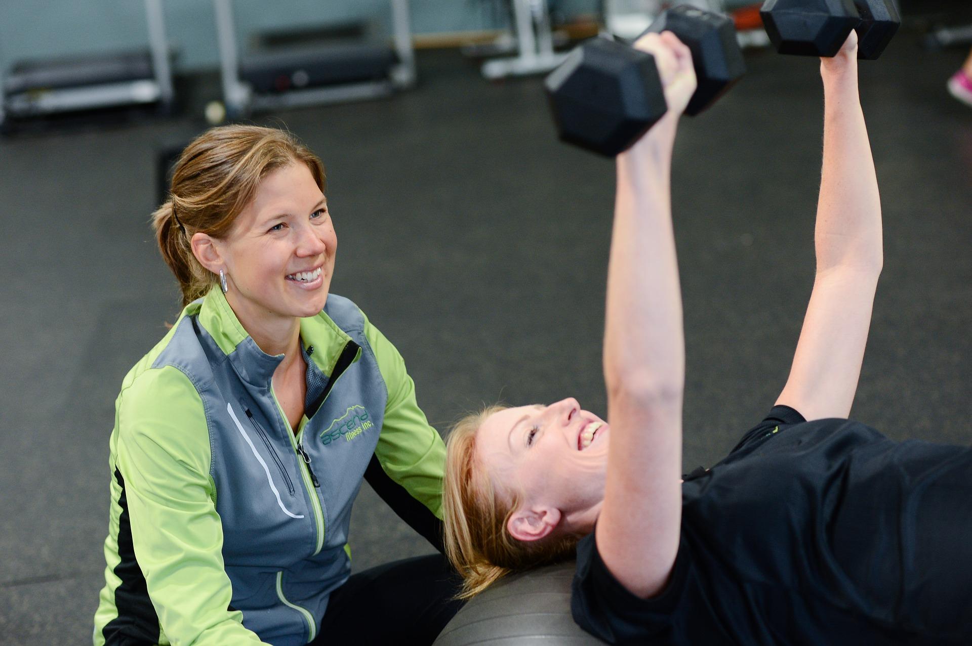 Cvičení s trenérem