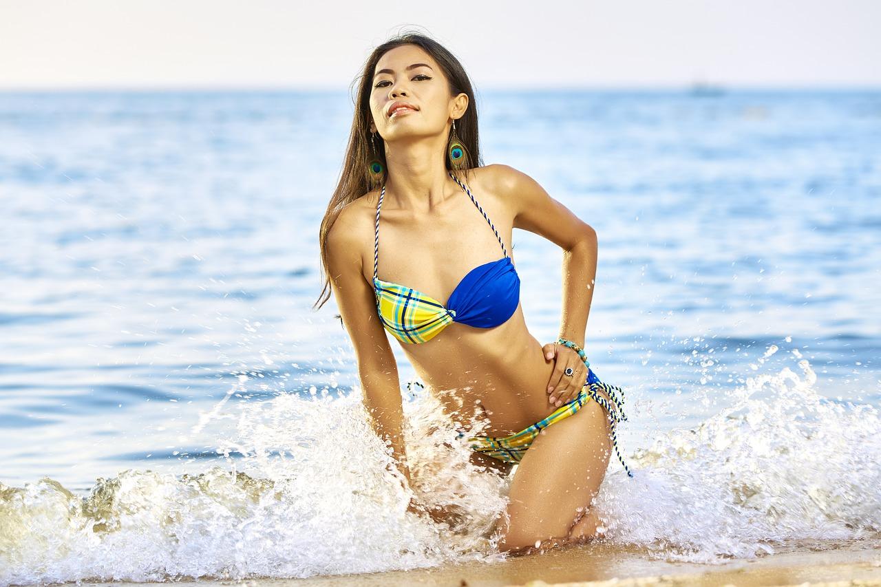 Buďte na pláži sexy.