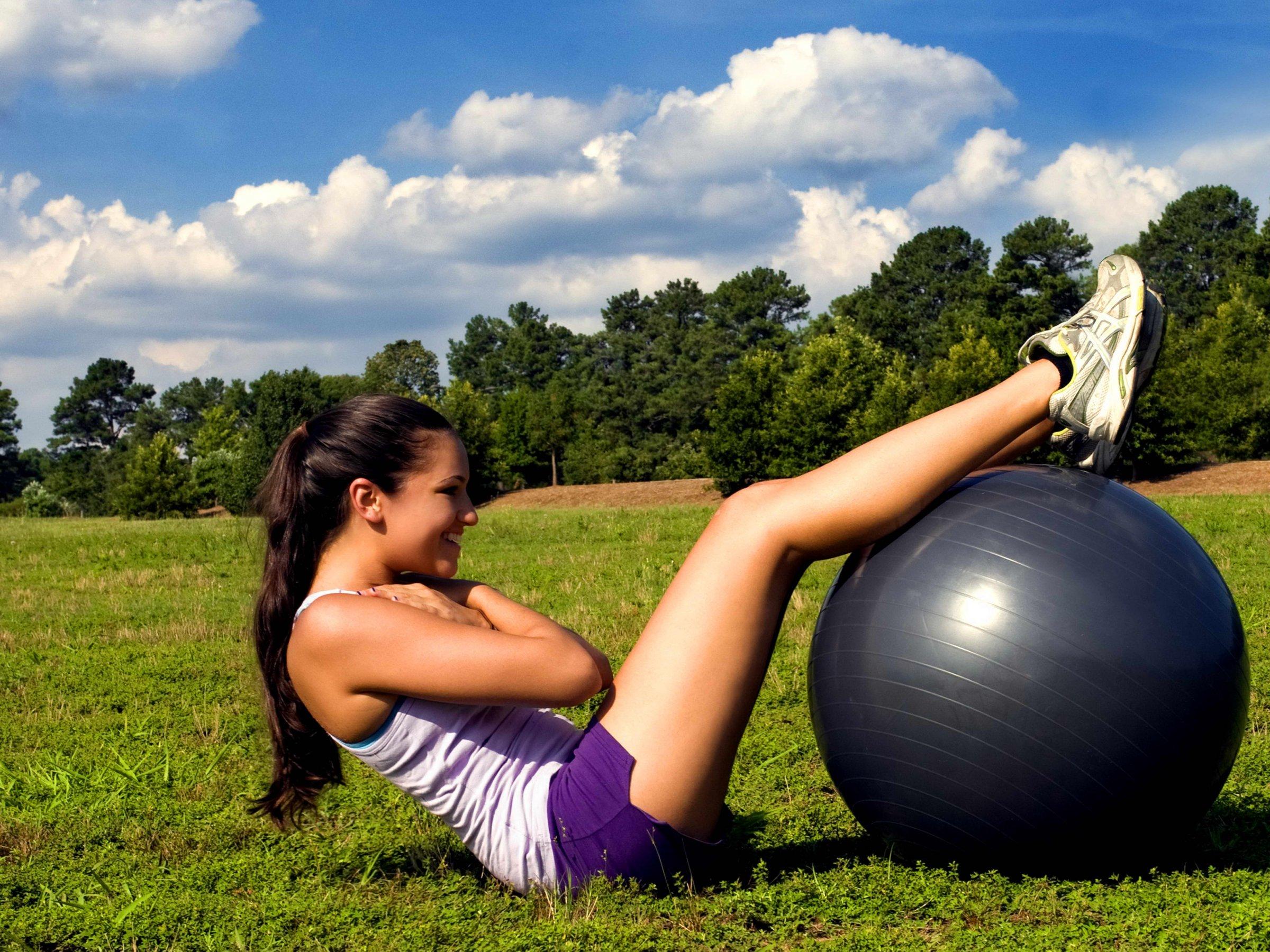 Fitness trénink